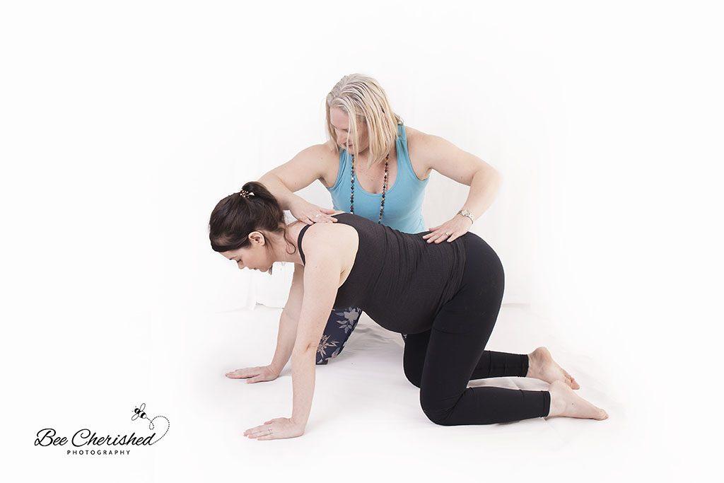 pregnancy yoga teacher Brisbane Northside